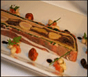 Mosaic of Hare with Foie Gras