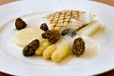 Chef Henk Savelberg: Grilled Turbot with Asparagus & Morels