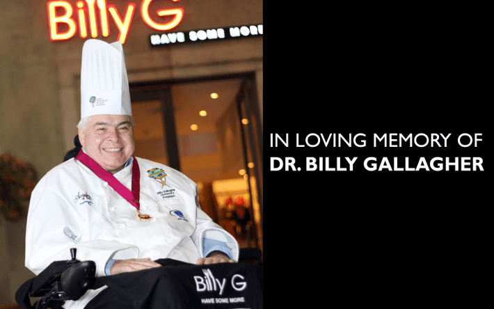 In Loving Memory of Dr. Billy Gallagher