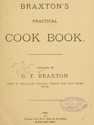 Braxton's Practical - Inside Cover