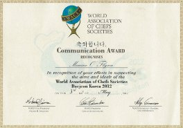 WACS Communication Award, Daejeon 2012