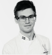 Young Chef Champ Kasper Christensen, Denmark 2014