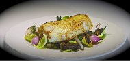 Butter Roasted Halibut with Wild Rice & Mushrooms