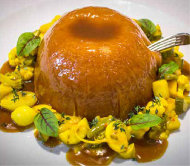 Steamed Suet Pudding, Alberta Veal, Foie Gras. Piccalilli Relish.