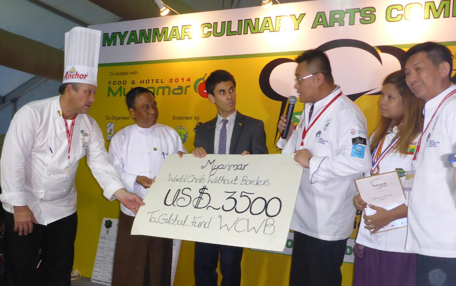World Chefs without Borders Donation Ceremony
