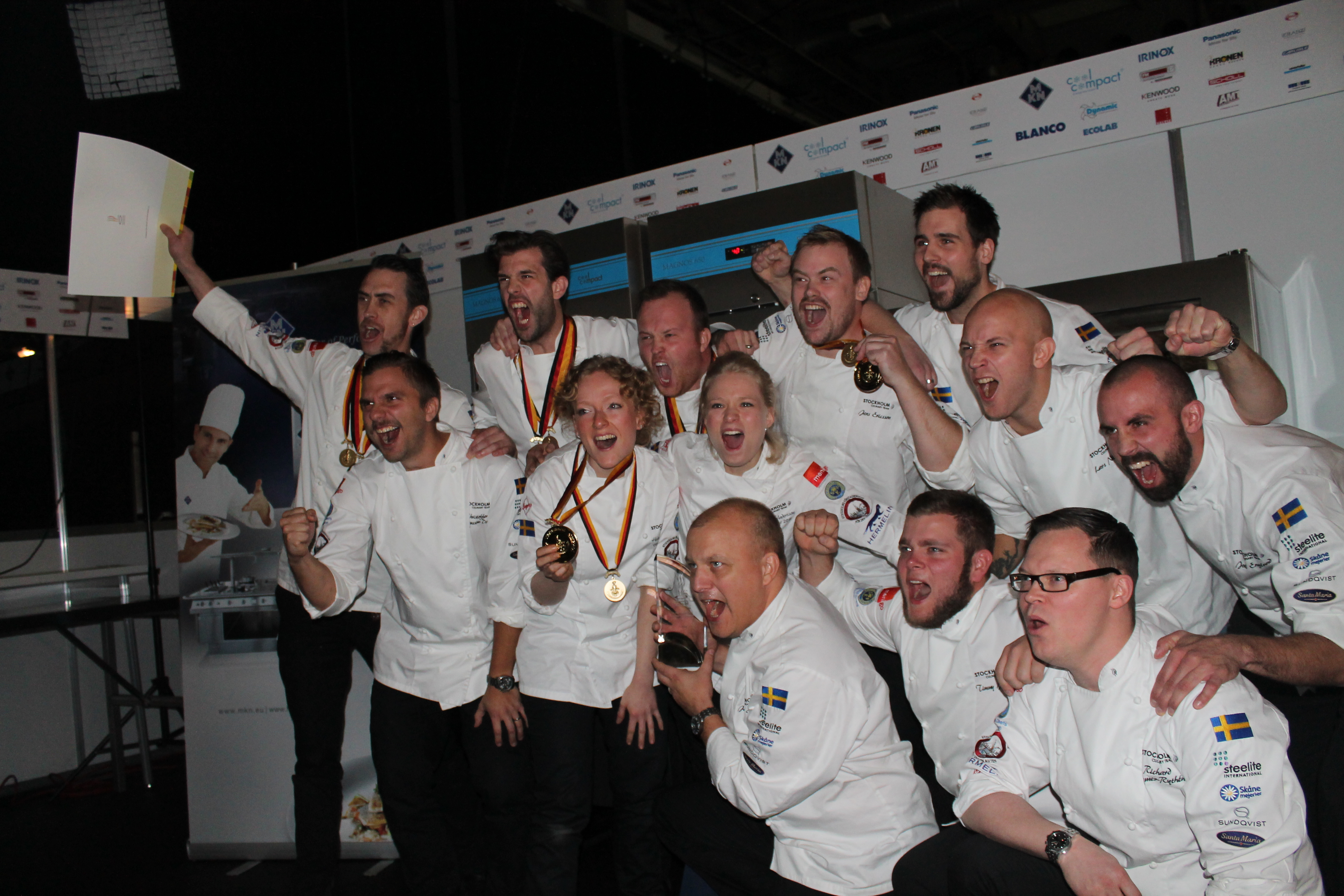 Stockholm Regional Culinary Team Olympic Champions