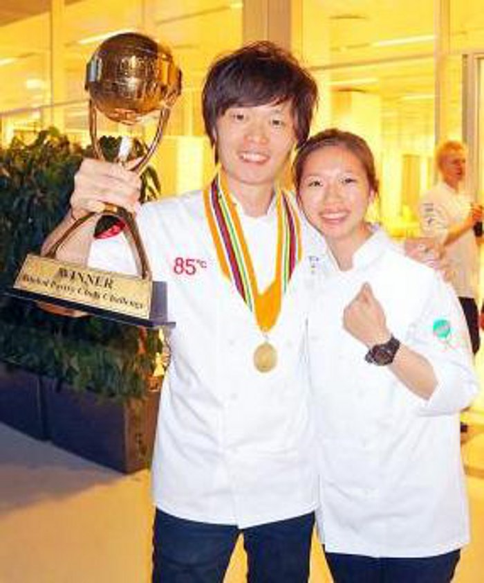 Chen Li Che Taiwan's Global Pastry Chef Champion