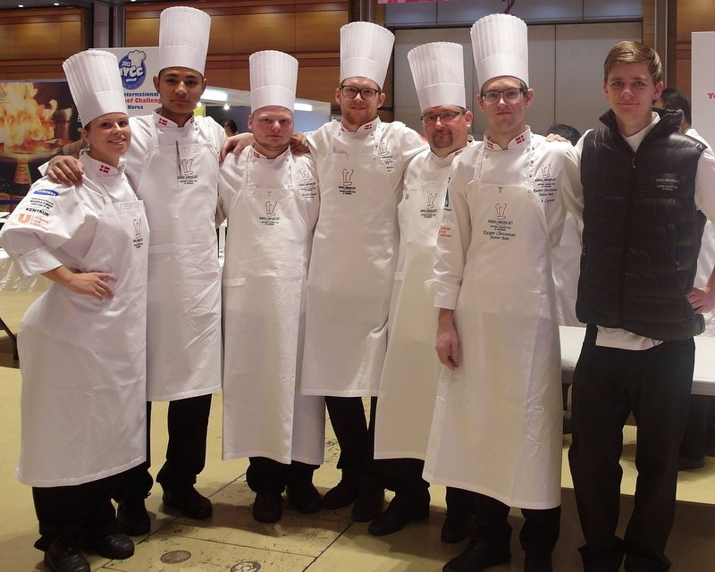 Denmark Young Chefs Team
