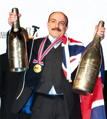 England's Gerard Basset,Best Sommelier in the World