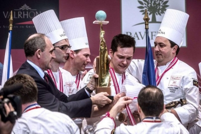 France National Team World Pastry Cup Champions