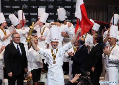 France's Thibaut Rugger Bocuse d'Or Champion