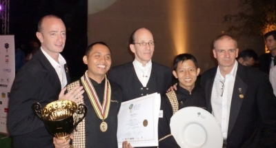 Indonesia's Wayan Wicaya WACS Global Chef Champion