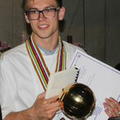 Kasper Christensen Denmark's Young Global Chef Champion
