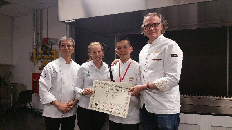 Lee Yam Hock,Singapore Pastry Champion