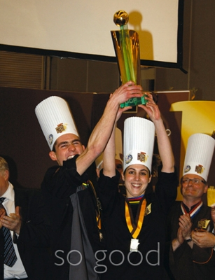 Team France's Jerome de Oliveira & Alice Barday World Sugar Champions