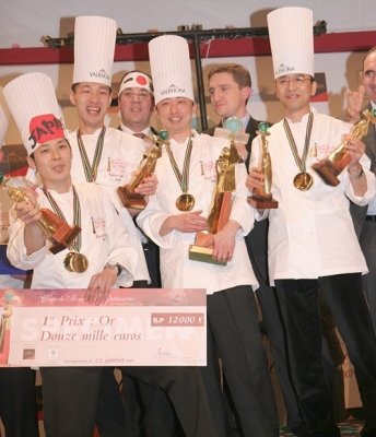 Team Japan World Pastry Cup Champions