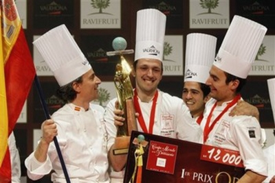 Team Spain World Pastry Cup Champions